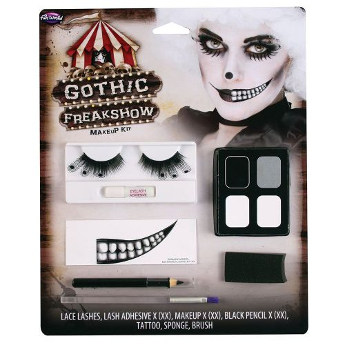 Fabulous Freaks Makeup & Accessory Set for SFX Fancy Dress